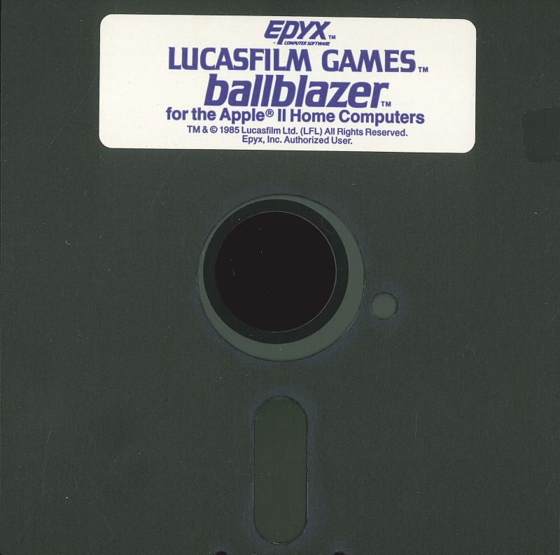 Ballblazer Apple II Media