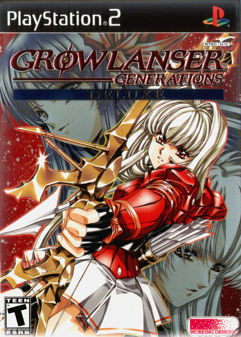 Growlanser Generations (Deluxe Edition) PlayStation 2 Front Cover
