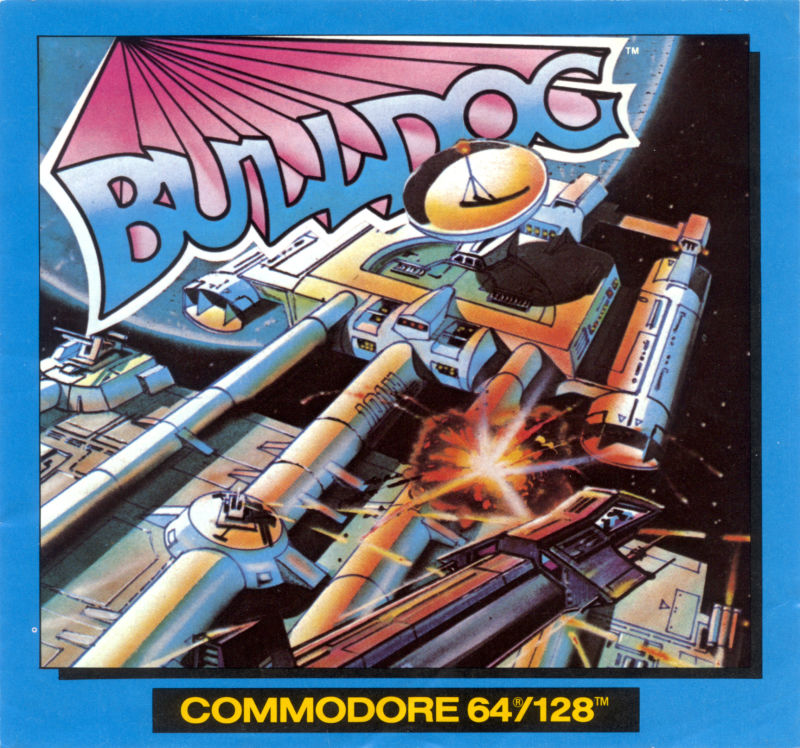Bulldog Commodore 64 Front Cover