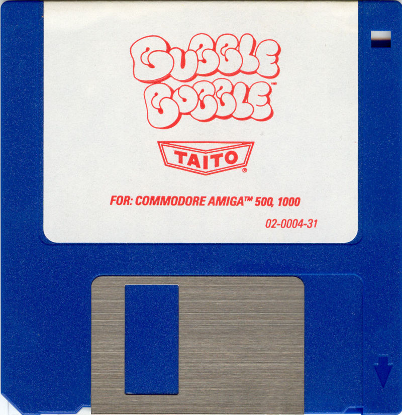 Bubble Bobble Amiga Media