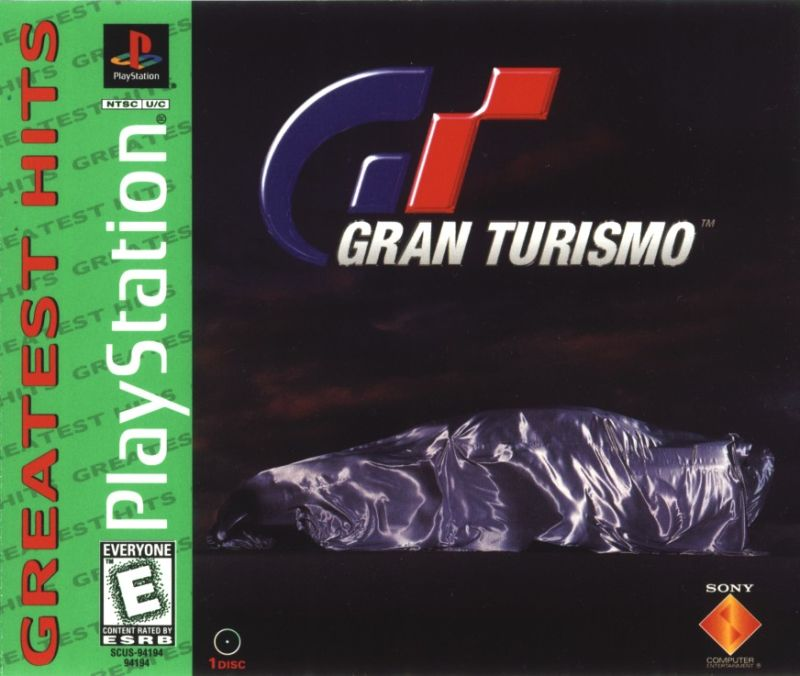 Gran Turismo PlayStation Front Cover