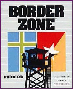 Border Zone DOS Front Cover