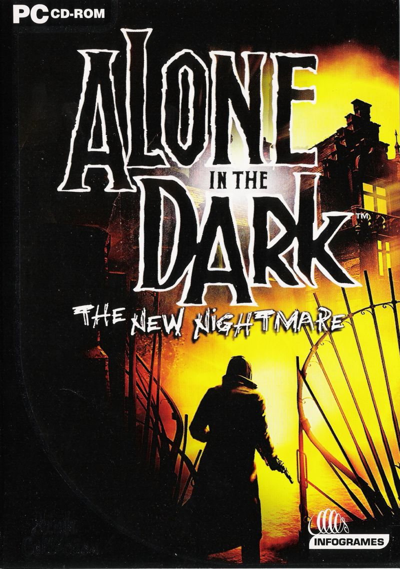 Alone in the dark the new nightmare for dreamcast 2001 for Alone in the dark