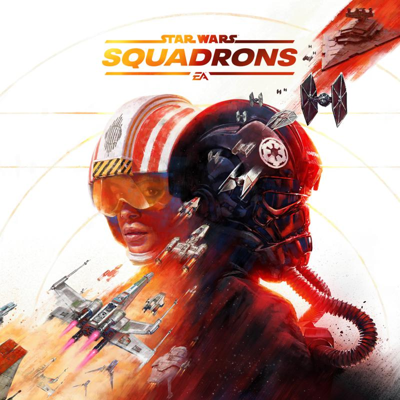 Star Wars: Squadrons PlayStation 4 Front Cover