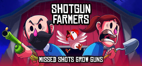 """Shotgun Farmers Linux Front Cover """"Missed Shots Grow Guns"""" cover"""