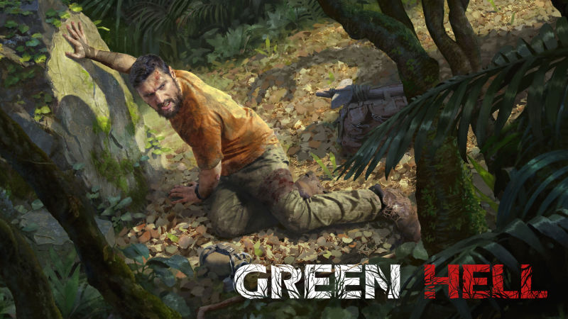 Green Hell Nintendo Switch Front Cover
