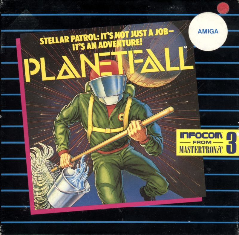 Planetfall Amiga Front Cover
