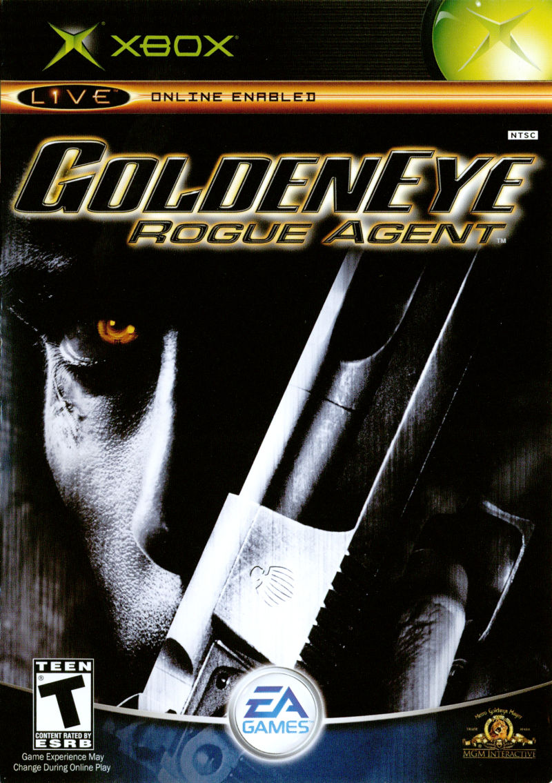 GoldenEye: Rogue Agent Xbox Front Cover