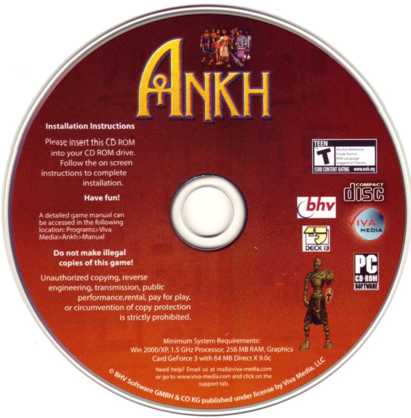 Ankh Windows Media