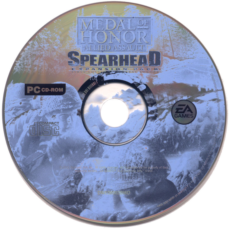 Medal of Honor: Allied Assault - War Chest Windows Media Medal of Honor Allied Assault Spearhead disc