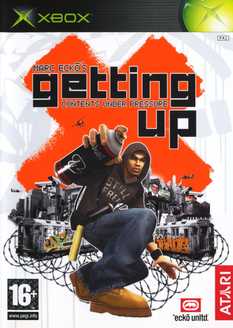 Marc Ecko's Getting Up: Contents Under Pressure Xbox Front Cover