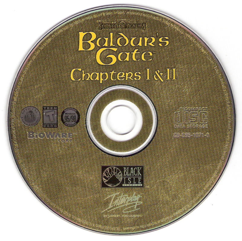 Baldur's Gate Chapters I & II Windows Media
