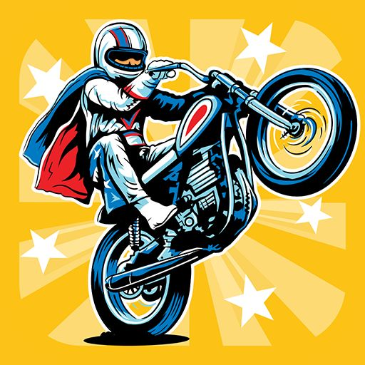 Evel Knievel Android Front Cover