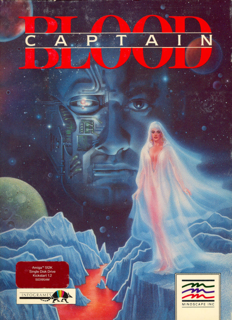 Captain Blood Amiga Front Cover