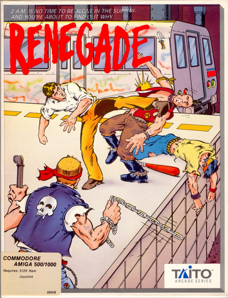 Renegade Amiga Front Cover