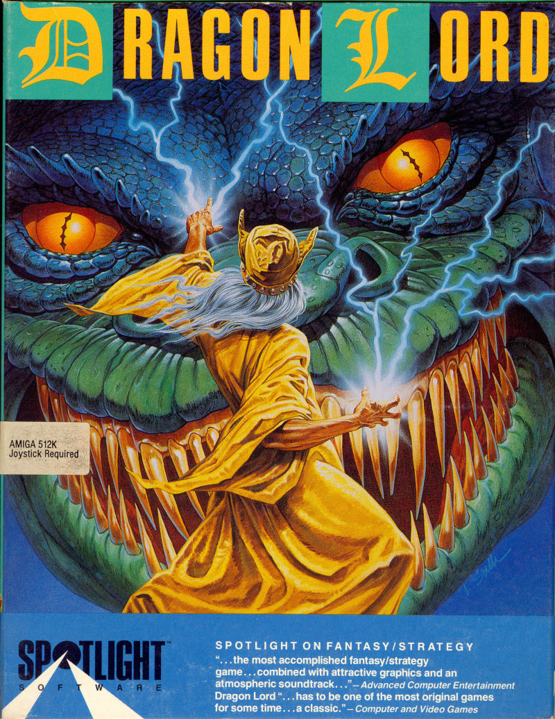 Dragon Lord Amiga Front Cover