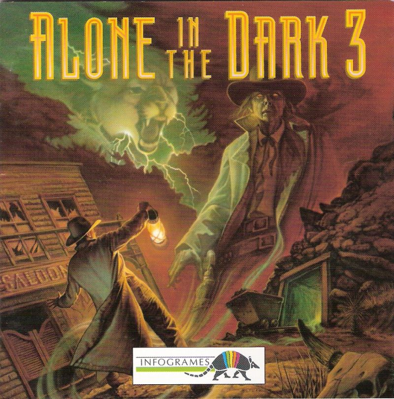 Alone in the Dark 3 DOS Other Jewel Case - Front