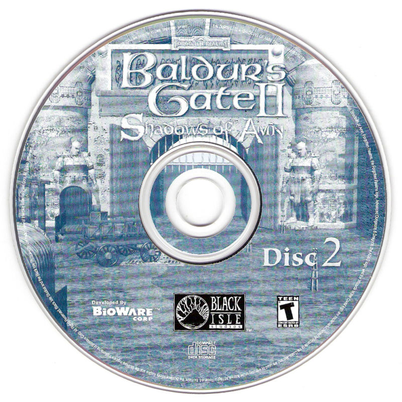 Baldur's Gate II: The Collection Windows Media SoA Disc 2