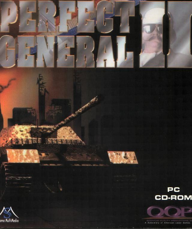 Perfect General II DOS Front Cover