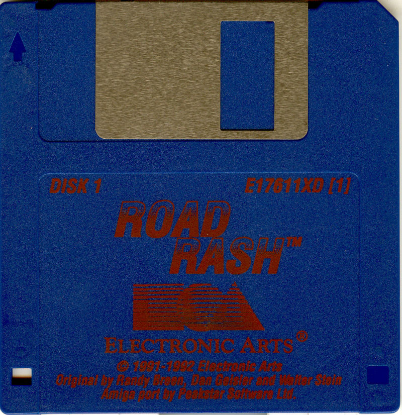 Road Rash Amiga Media Disk 1/2