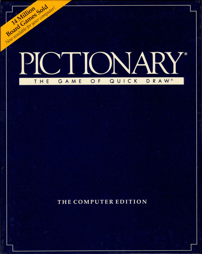 Pictionary: The Game of Quick Draw for Amiga (1989 ...