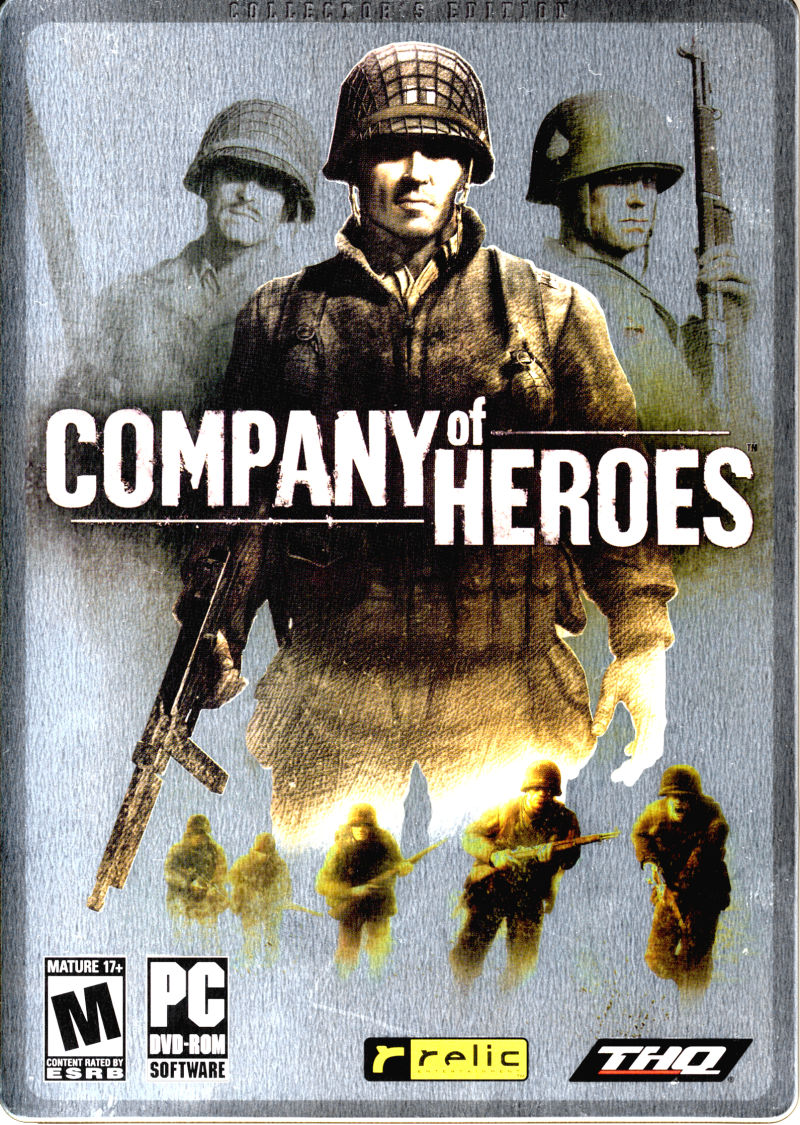 Company of Heroes (Collector's Edition) Windows Front Cover