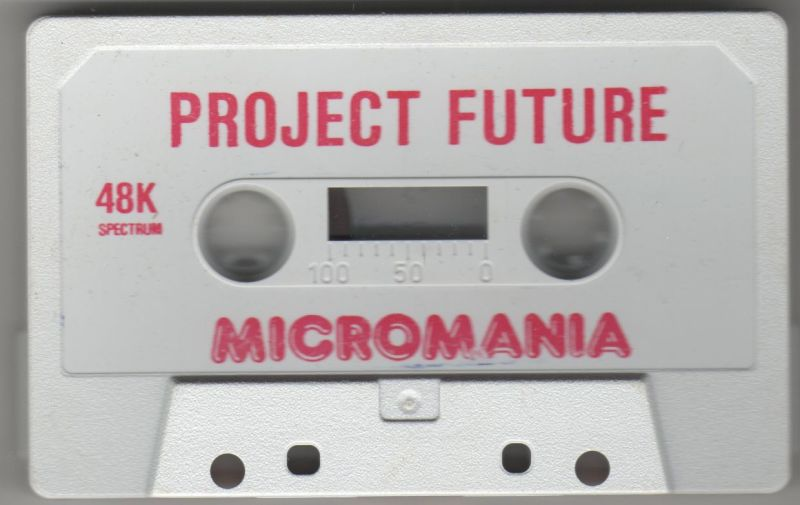 Project Future ZX Spectrum Media