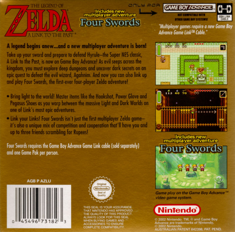 The Legend of Zelda: A Link to the Past/Four Swords (2002