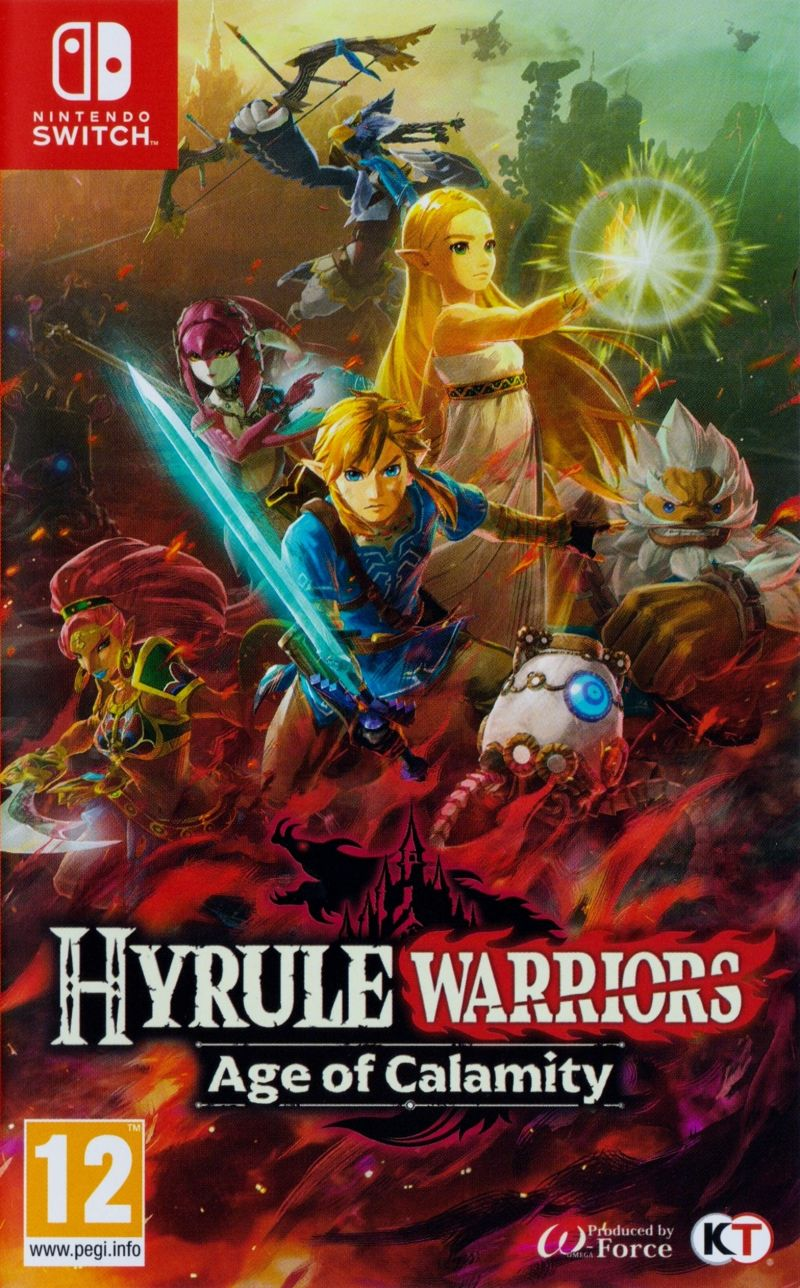 Hyrule Warriors Age Of Calamity 2020 Nintendo Switch Box Cover Art Mobygames