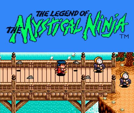 The Legend of the Mystical Ninja New Nintendo 3DS Front Cover