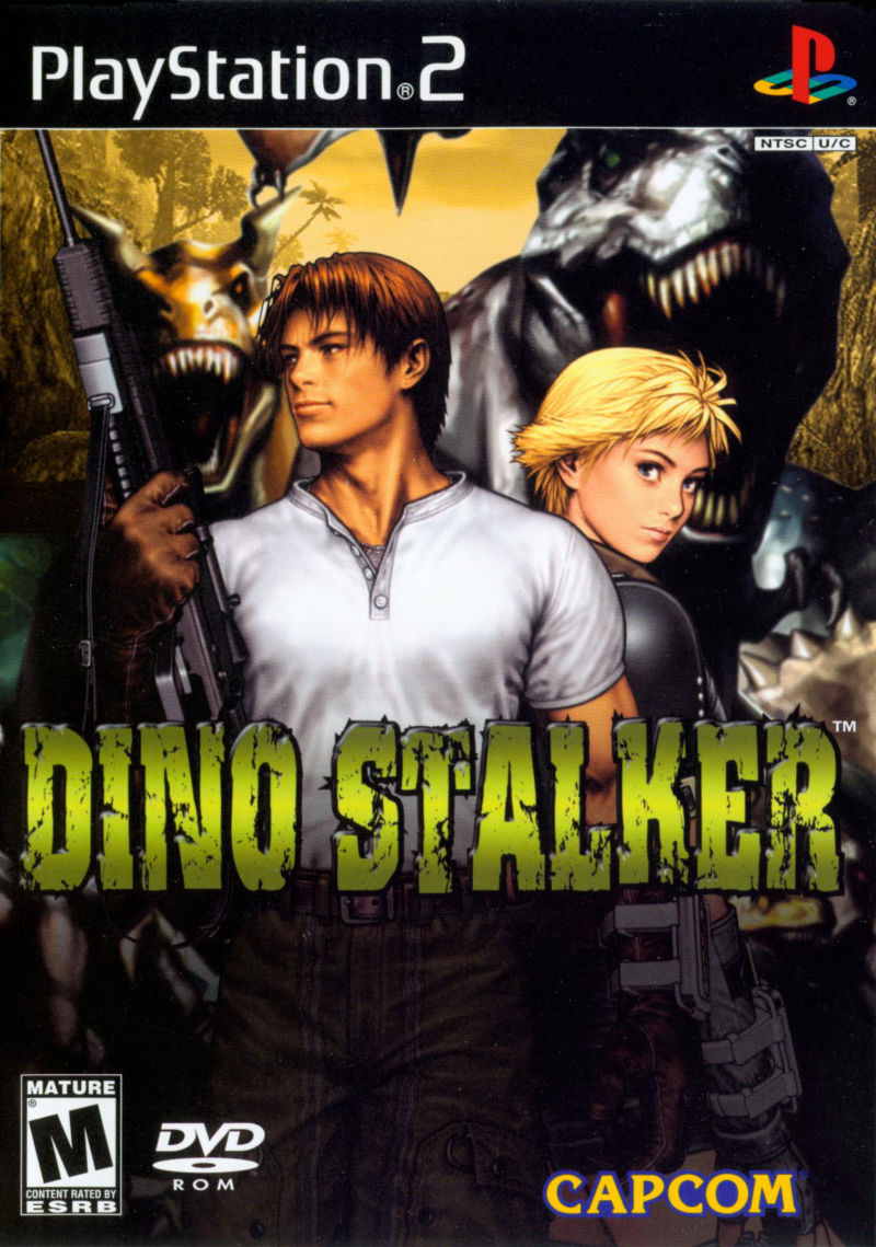 Dino Stalker PlayStation 2 Front Cover