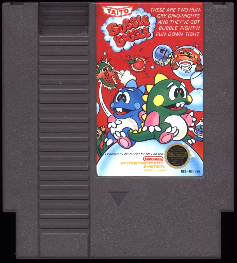 Bubble Bobble NES Media