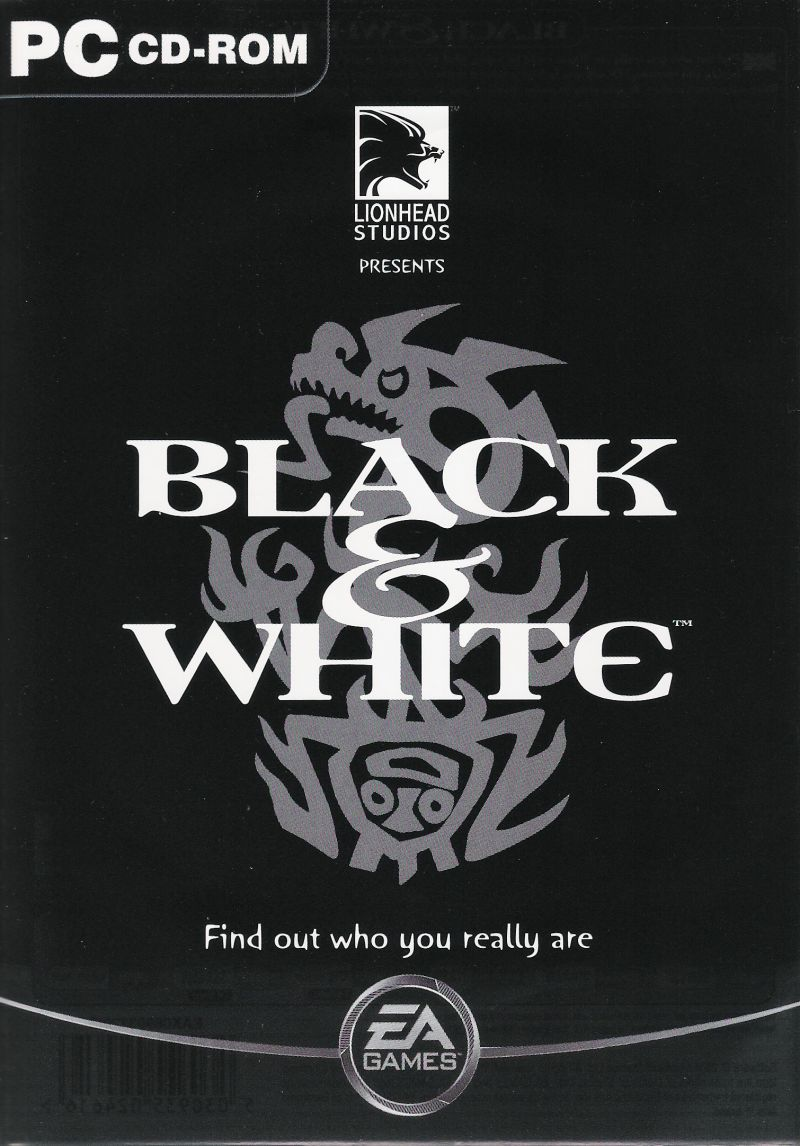 Black & White Windows Front Cover Black Cover
