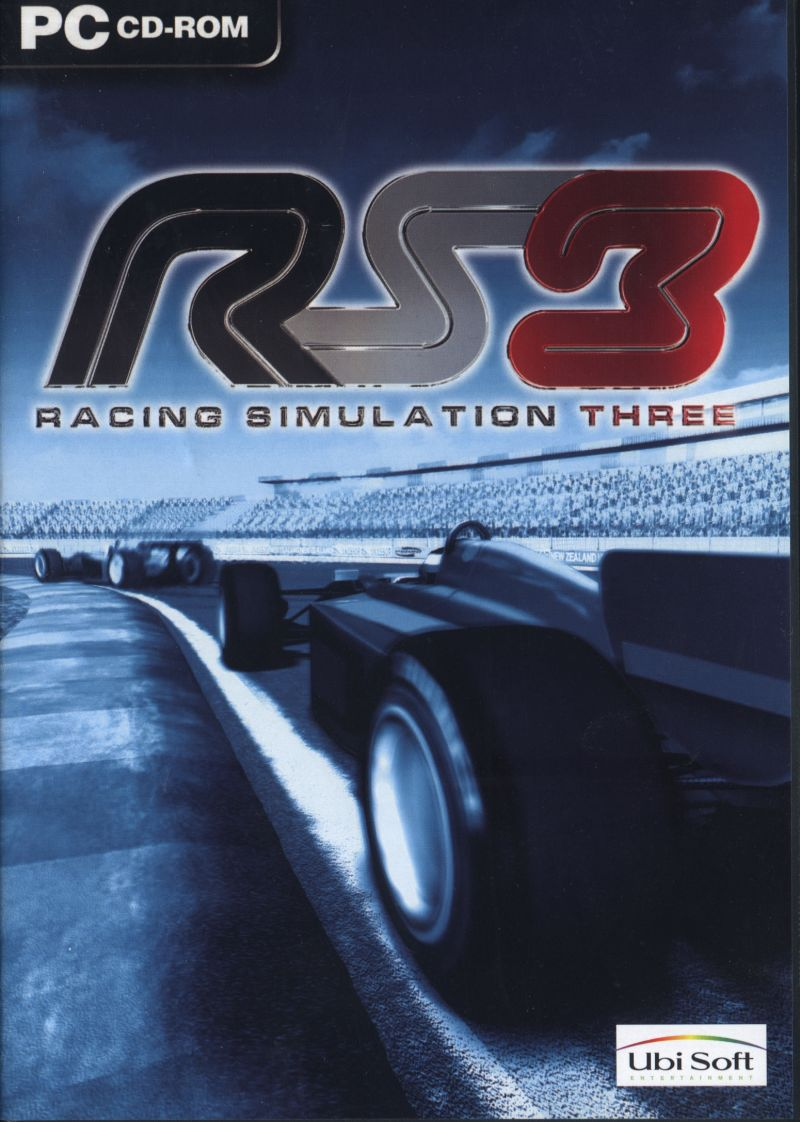 RS3: Racing Simulation Three Windows Front Cover