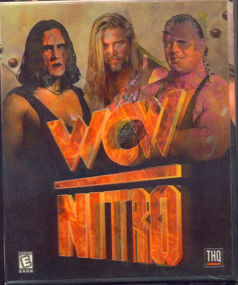 WCW Nitro Windows Front Cover