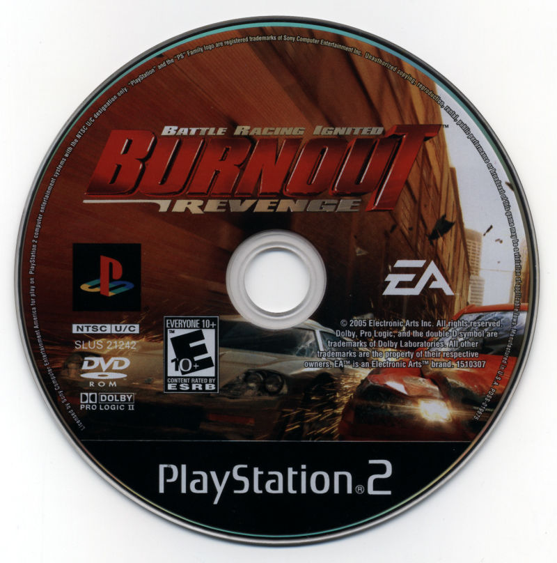 Burnout: Revenge PlayStation 2 Media
