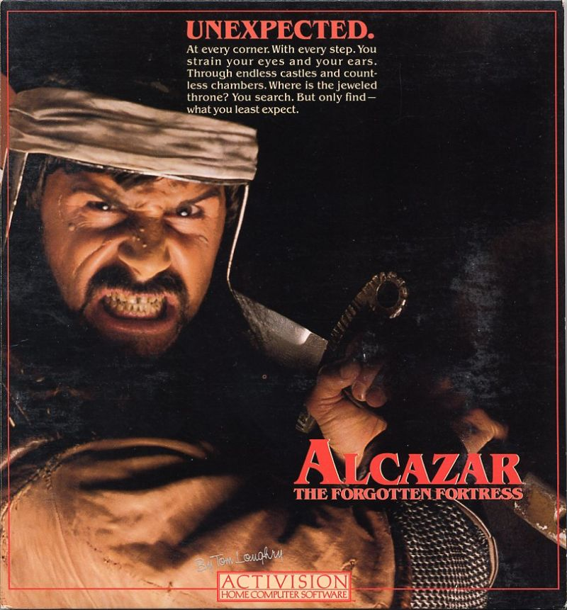 Alcazar: The Forgotten Fortress Commodore 64 Front Cover
