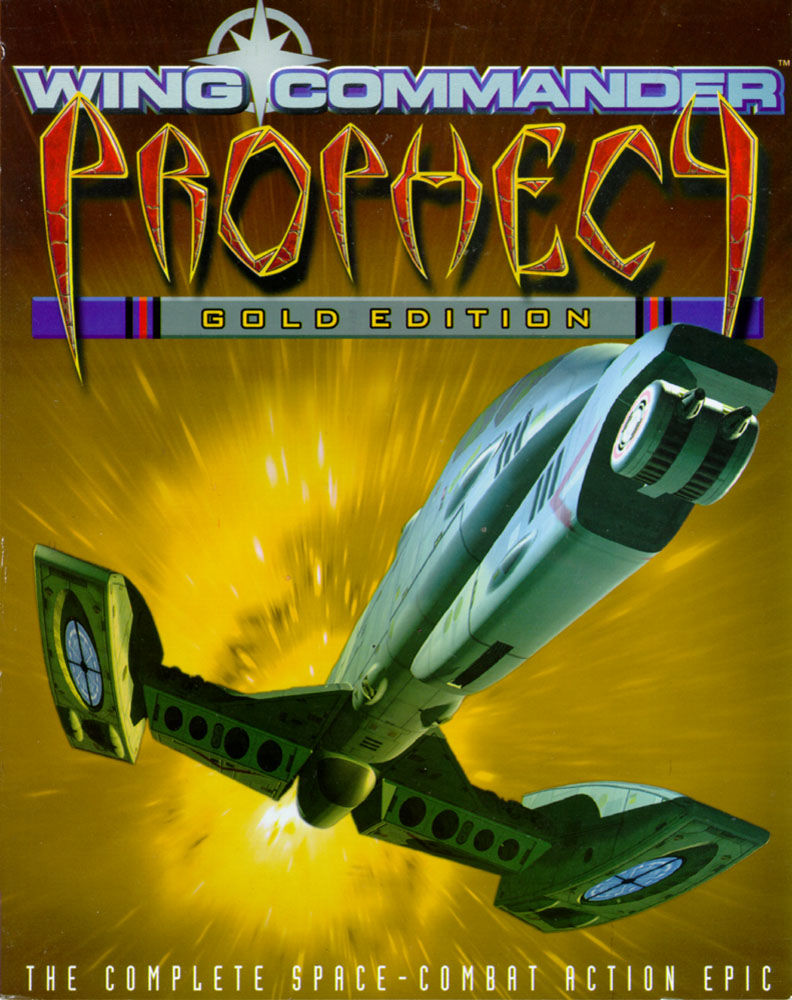 Wing Commander: Prophecy (Gold Edition) Windows Front Cover