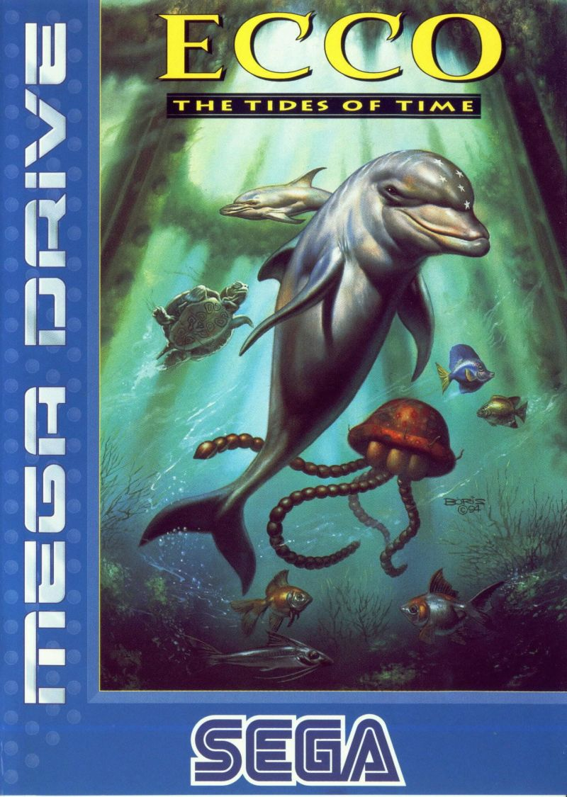 Ecco: The Tides of Time Genesis Front Cover