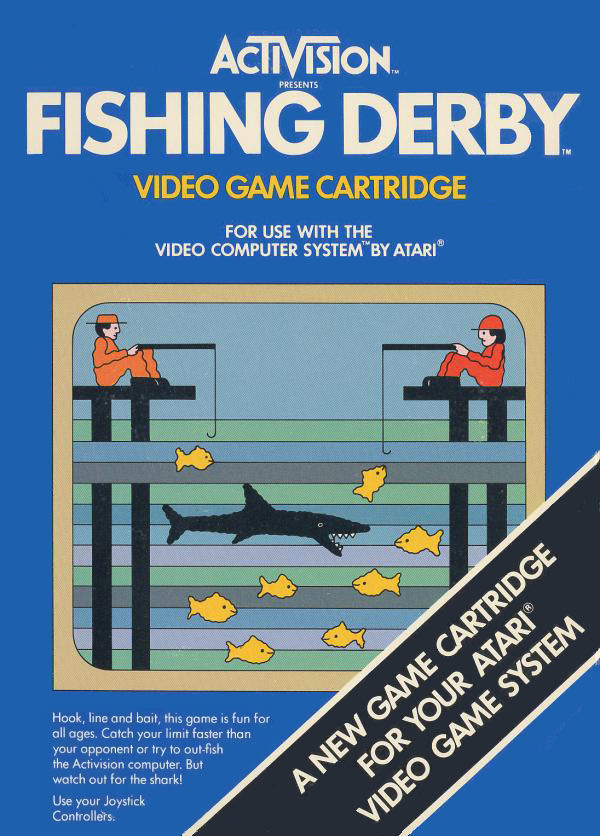 Fishing Derby Atari 2600 Front Cover