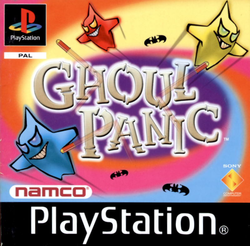 Ghoul Panic PlayStation Other Manual Front