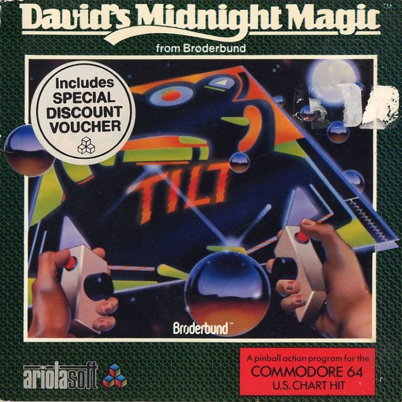 David's Midnight Magic Commodore 64 Front Cover