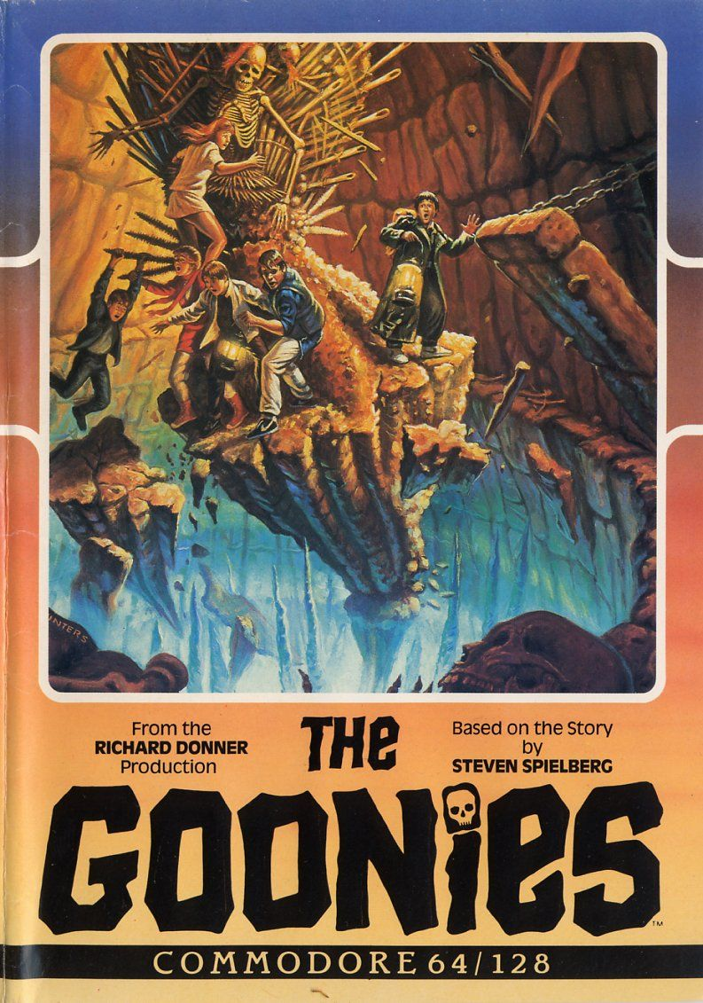 The Goonies Commodore 64 Front Cover