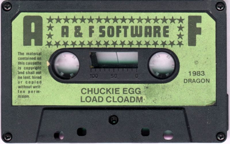Chuckie Egg Dragon 32/64 Media