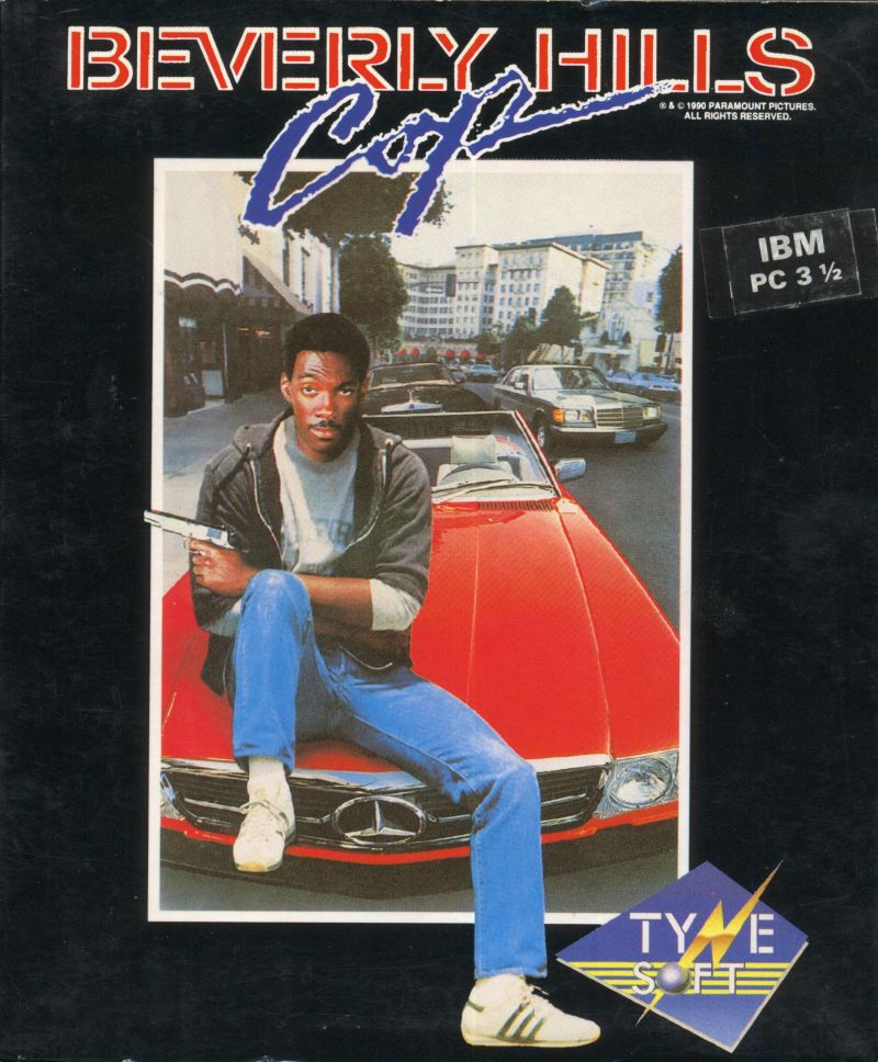 Beverly Hills Cop DOS Front Cover