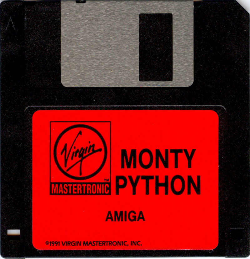 Monty Python's Flying Circus Amiga Media