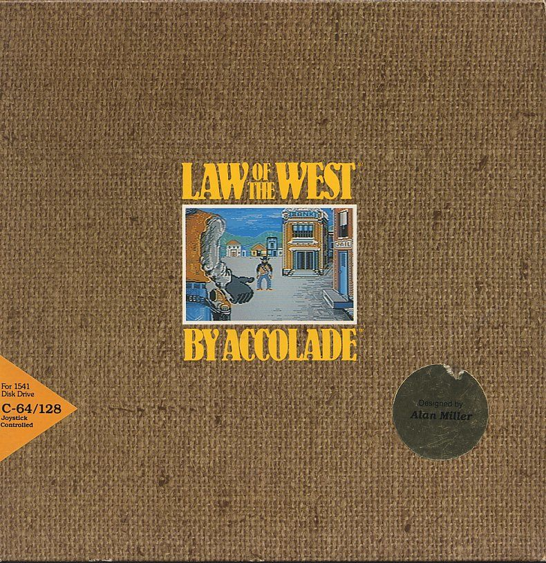 Law of the West Commodore 64 Front Cover