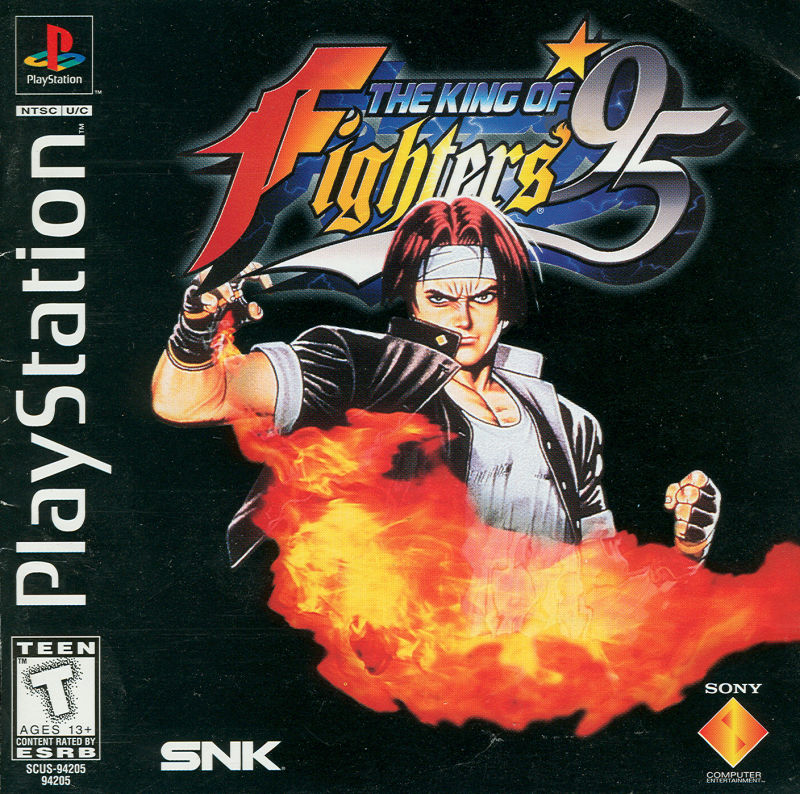 The King of Fighters '95 PlayStation Front Cover
