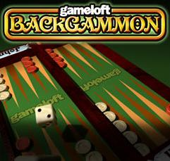 Gameloft Backgammon J2ME Front Cover