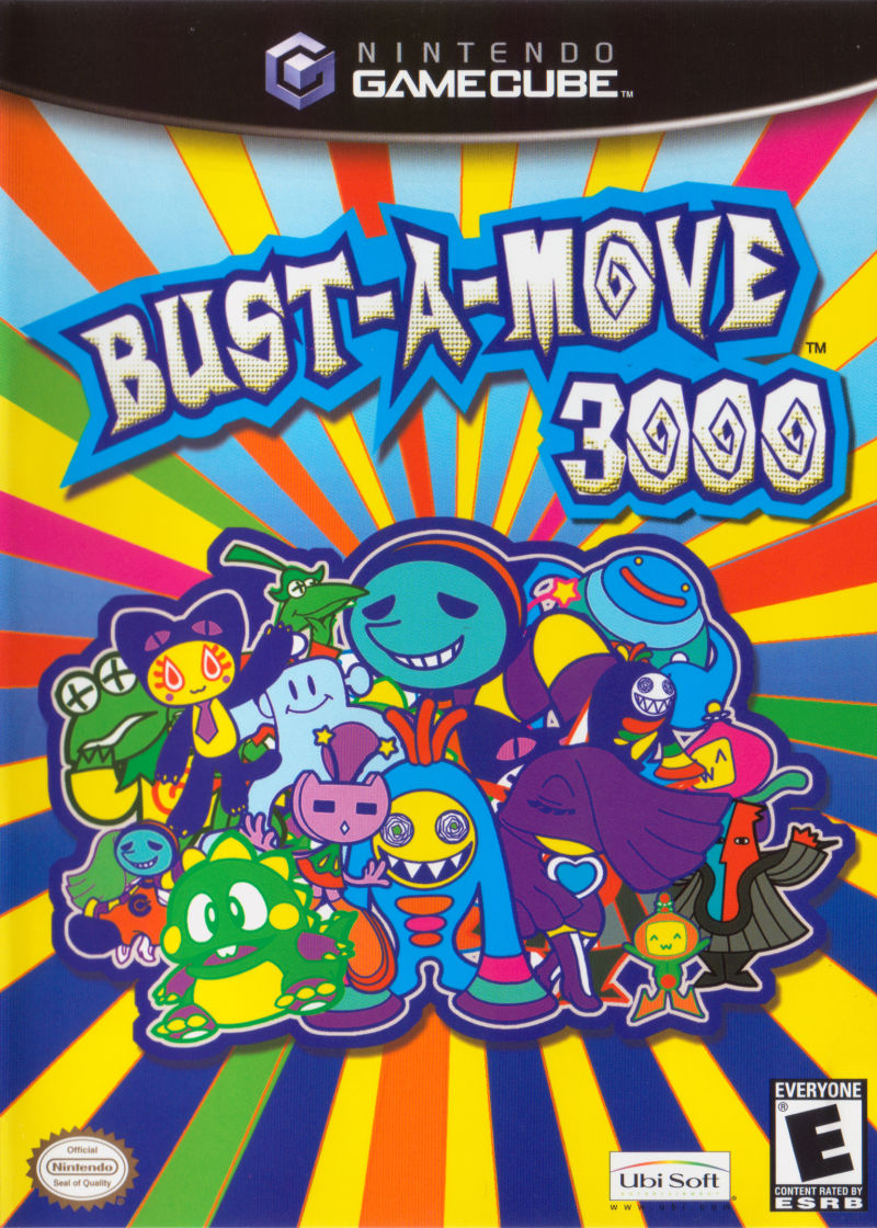 Super Bust-A-Move GameCube Front Cover